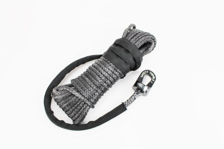 ATV winch rope and Safety Thimble I